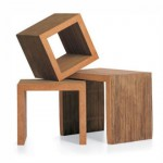 Frank O. Gehry Low Tables voor Vitra