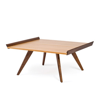 George Nakashima Splay leg tafel en tray