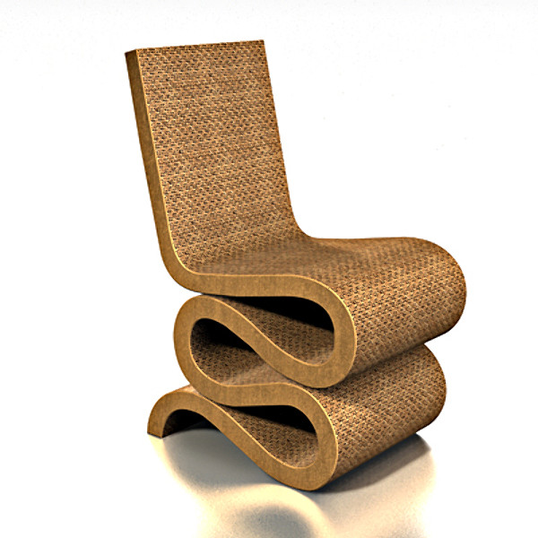 Wiggle chair Frank O. Gehry